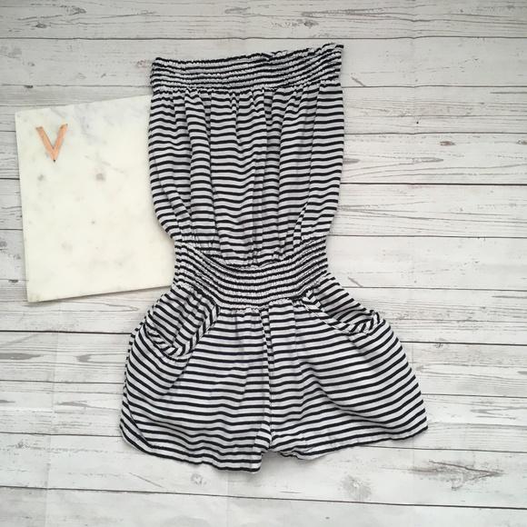 0e034f413197 dELiA s Pants - 5  25 delias womens s striped romper navy white na